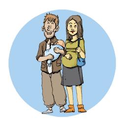 retour de la maternité